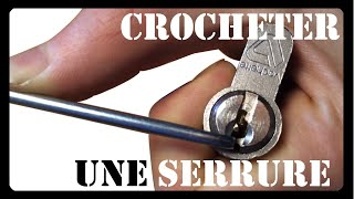 Crocheter une serrure - lock picking fabriquer ses outils - homemade tools