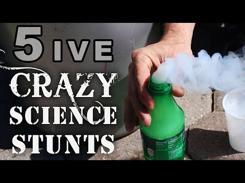 5 Crazy Science Stunts, You Won't See At School