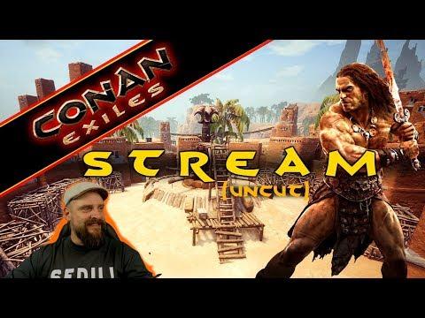 CONAN EXILES deutsch | Stream (uncut) | SEPERMERU - Rekrutierungs-Posten aufbauen | 02.08.2019