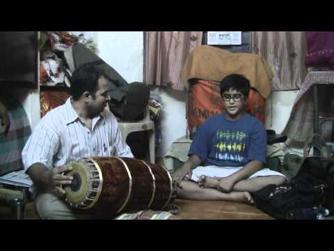 Thillana In Brindavani Ragam Of Dr.balamuralikrishna's Guruji video