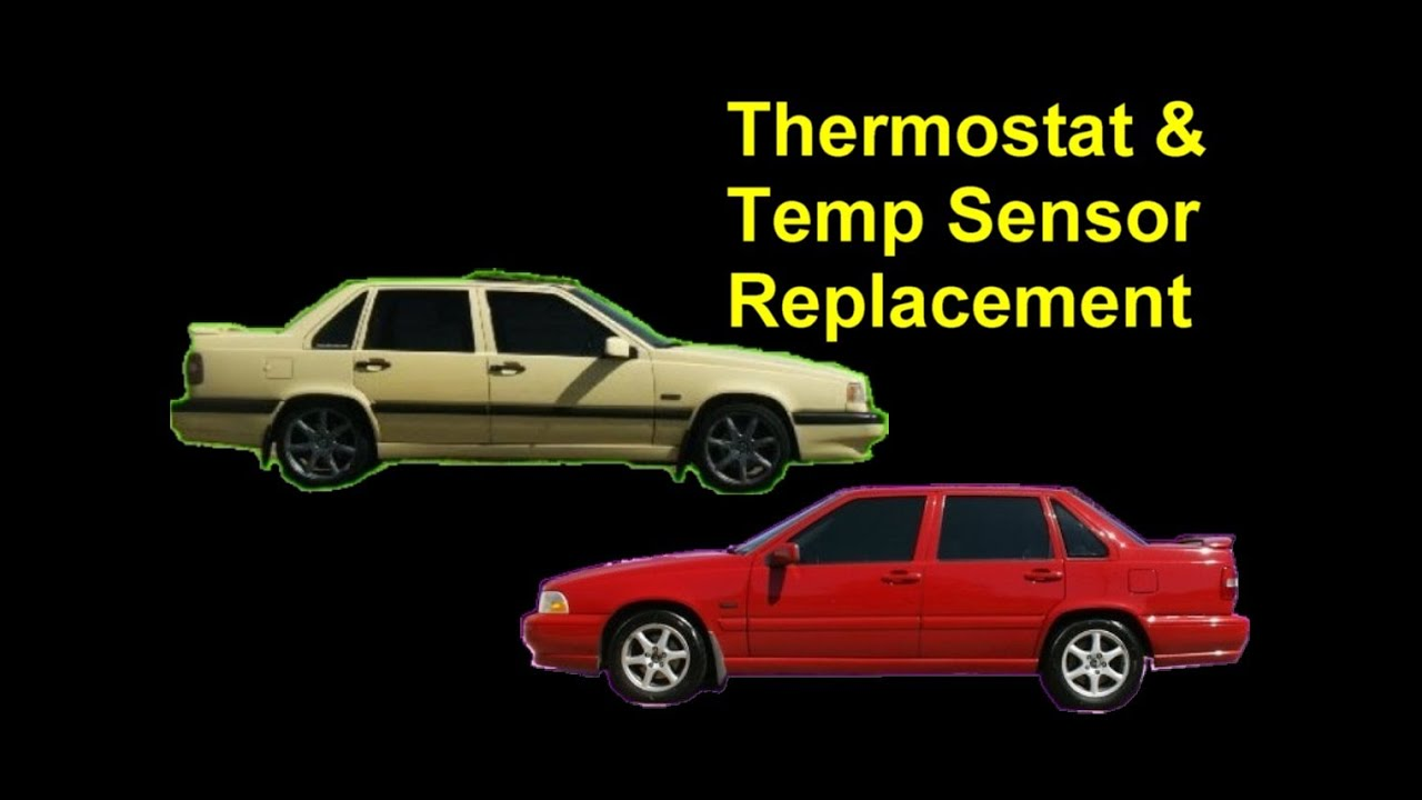 Thermostat and ECT (Engine Coolant Temperature Sensor) Replacement, Volvo 850, S70, XC70, V70 ...