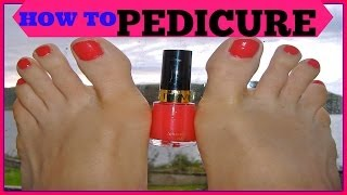 How To Do Pedicure Step By Step Tutorial At Home ,Salon Pedicure SuperPrincessjo