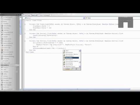 VB2008 Tutorial, Basics - WMP Function's