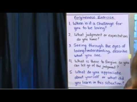 8/11/2013 Forgiveness Workshop with John Morton