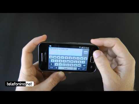 Samsung Galaxy Ace videoreview da Telefonino.net