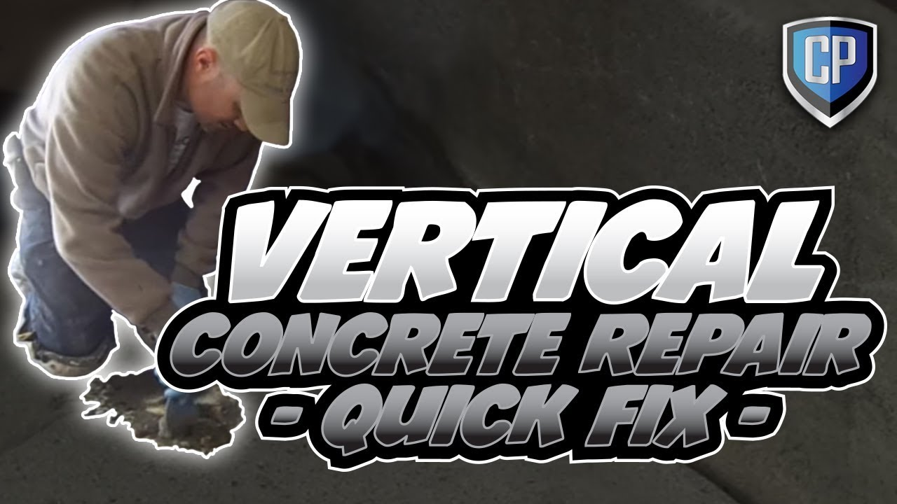 Vertical Concrete Vertical Concrete Repair