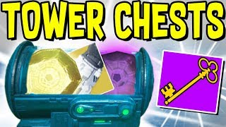 """Destiny 2 - HOW TO GET """"DANCE PARTY KEY"""" & """"LOOT A PALOOZA KEY"""" TO UNLOCK TOWER CHESTS!"""