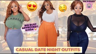 AUTUMN/FALL CASUAL DATE NIGHT TRY ON HAUL | I SAW IT FIRST CLOTHING ad