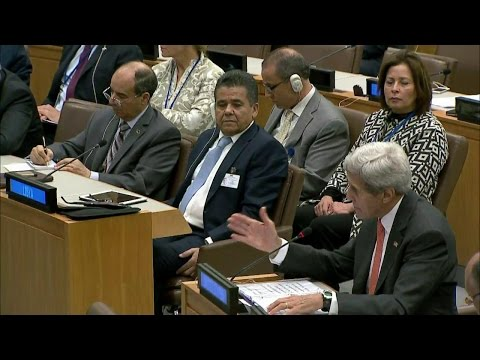 Secretary Kerry Speaks at High-Level U.N. Ministerial on Libya