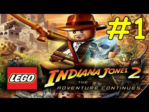 Lego Indiana Jones 2 Walkthrough Kingdom Of The Crystal Skull Part 1 Hangar Havoc