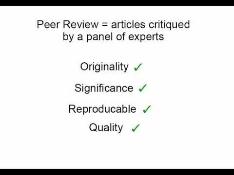 the importance of peer review