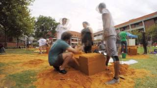 Cool timelapse of students doing a sand sculpture at Curtin University
