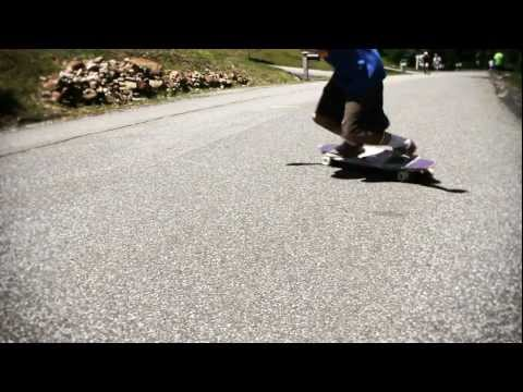 Longboarding: One run