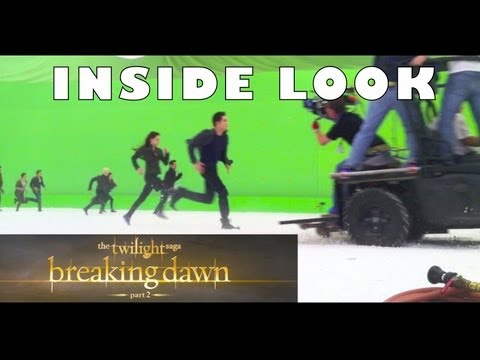 Twilight Saga: Breaking Dawn Part 2 Behind-the-scenes Of Epic Battle video