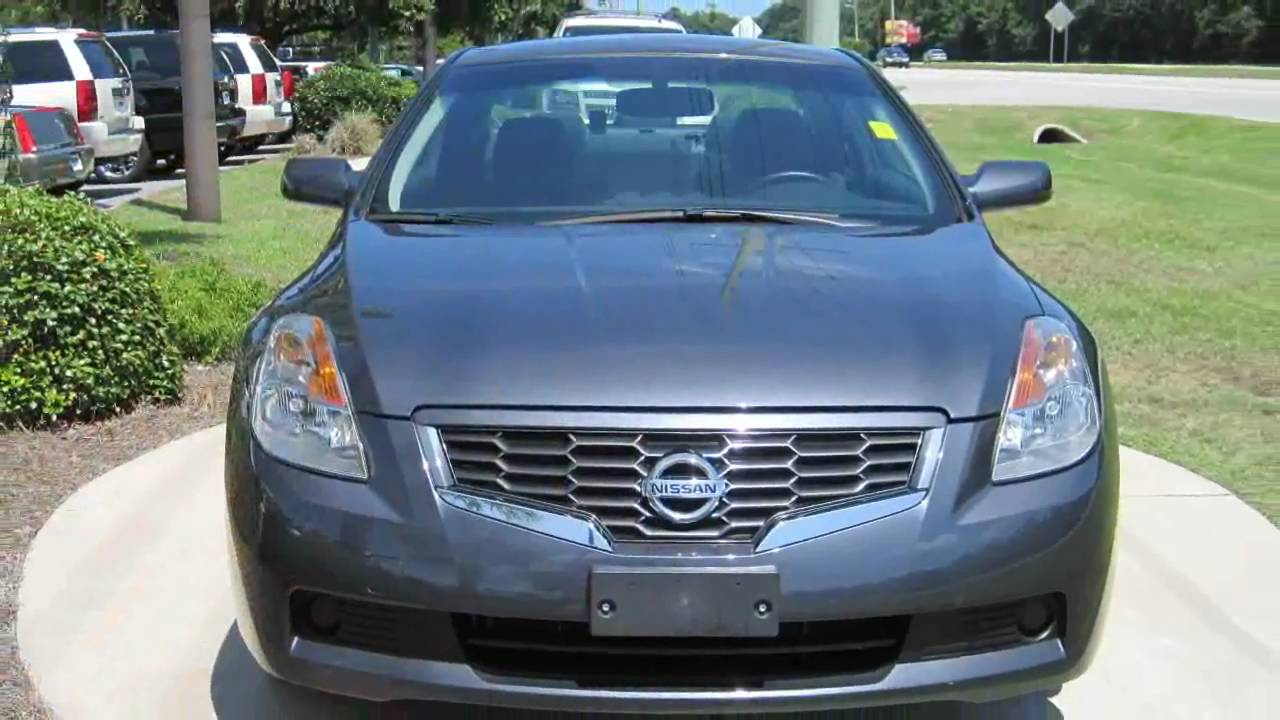 Altima 2009 Nissan Altima 2 5s Coupe Gray Push Button Start Youtube