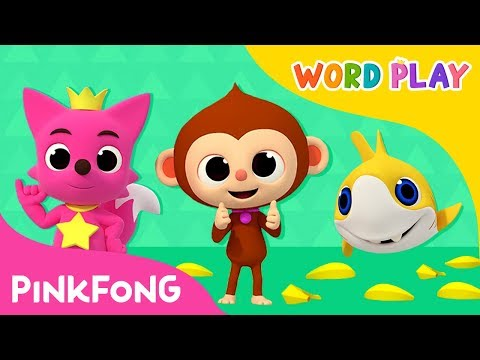 Monkey Banana and more | Word Play | +Compilation | Pinkfong Songs for Children