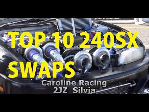 Top 10 Most Impressive 240SX Swaps