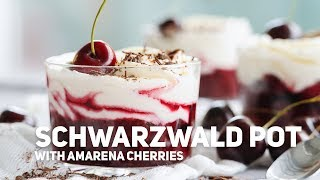 Schwarzwald Pot with Amarena Cherries