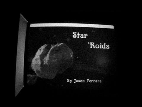 Star'Roids | Game Demo | Macintosh | 1989