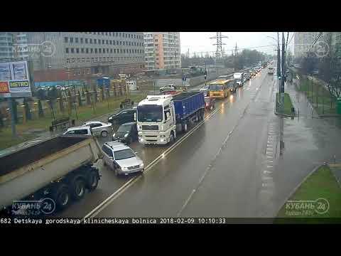 ДТП на ул. Академика Лукьяненко, д.97 09.02.2018