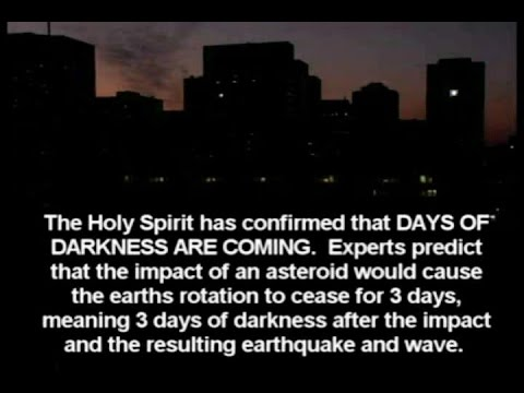 3 Days of Darkness Coming Soon? by Prophets Efrain Rodriguez, Selvakumar & Augusto Perez