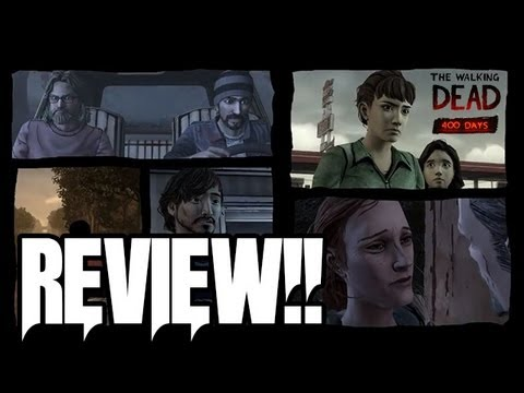 The Walking Dead 400 Days Review!! (Season 2 Predictions and Theories!!)