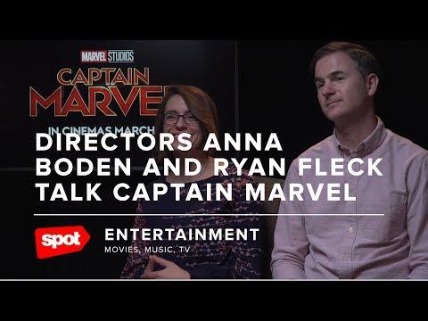 Directors Anna Boden And Ryan Fleck Talk Captain Marvel