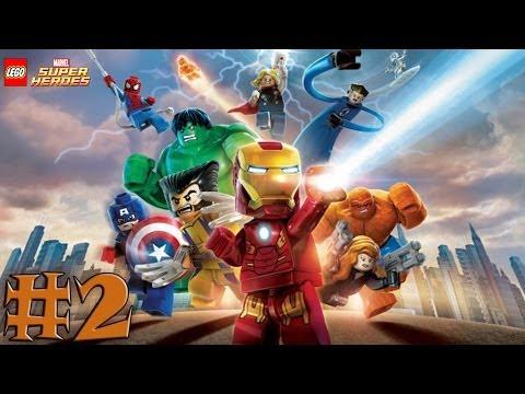 LEGO Marvel Super Heroes - Walkthrough - Part 2 - Times Square Off (X360) [HD]
