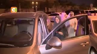 Saudi Arabia allows women to drive