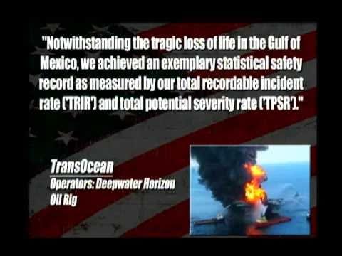 Oil Spill Execs Want Bonuses!