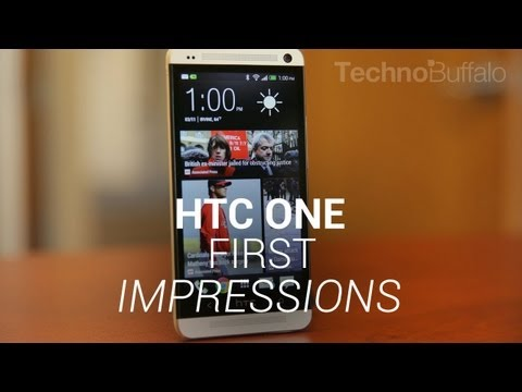 HTC One - First Impressions