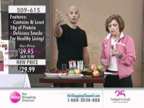 Harley Pasternak's 5-Factor Snack Bar 21 Piece at The Shopping Channel 509615