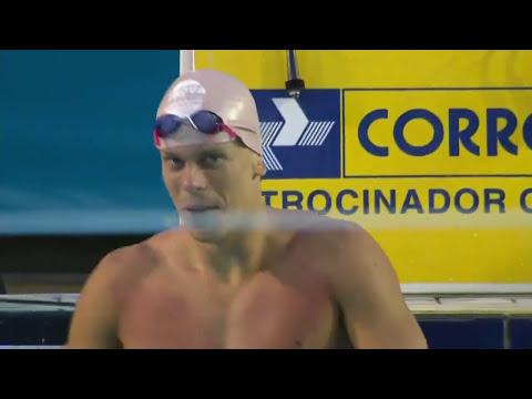 César Cielo vence os 50m livre masculino no Troféu Maria Lenk