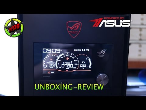 ASUS ROG FRONT BASE unboxing y review | UNBOXING
