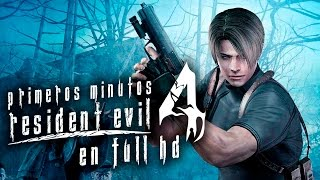 Asi se ve Resident Evil 4 en PS4 Detras de ti imbecil a 1080p/60FPS