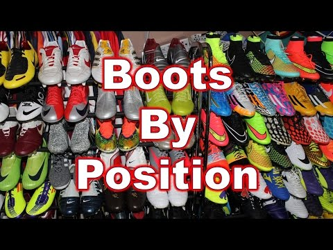 Picking Your Soccer Cleats/Football Boots by Position & Playing Style - What You Should Know