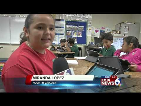 Local Elementary Students Use Ipads In Classrooms