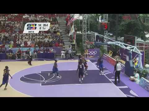 Central African Republic vs USA   Men's Basketball Preliminaries   Singapore