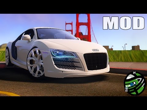 Gta Iv San Andreas Beta - Audi R8 V8 2008