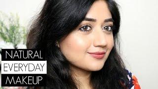 Everyday Makeup with Kajal + Nykaa eyemBlack Kajal Review