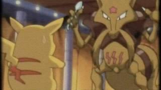 AMV - Pikachu VS Abra/Kadabra