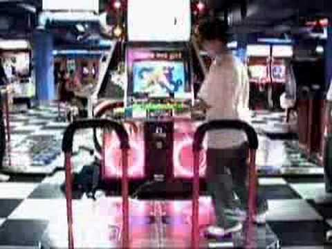 Japanese DDR Player