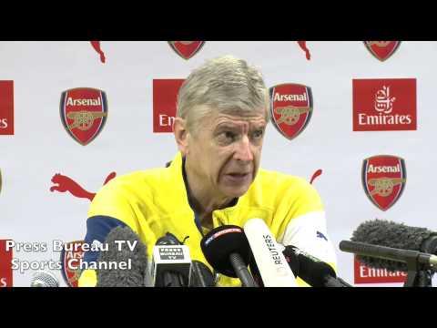 Arsene Wenger pre Arsenal vs QPR