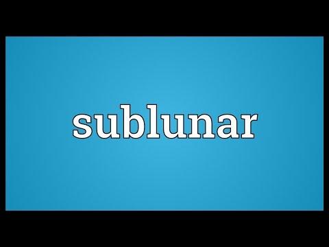 Header of sublunar