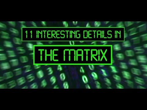 11 interesting details in THE MATRIX