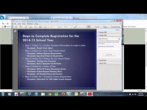 Video 1   Overview of Registration Process and Documents