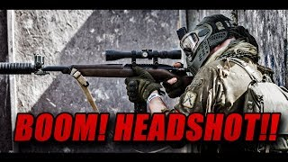 I'M ALONE!!! Paintball sniper HEADSHOTS!!!