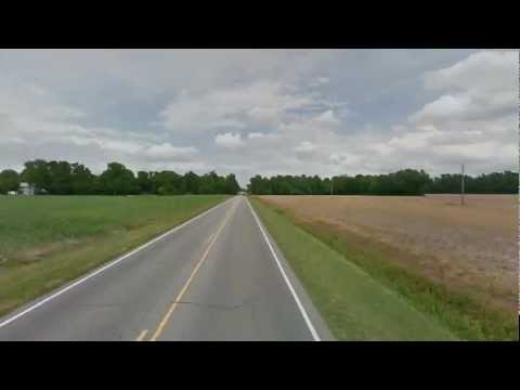 Google street view timelapse. Turkey Highway (North Carolina, USA)