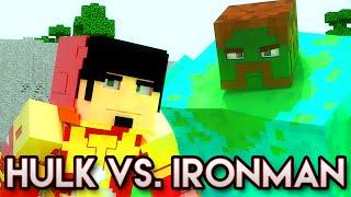 HULK VS. IRONMAN - Minecraft Animation - A Série 2