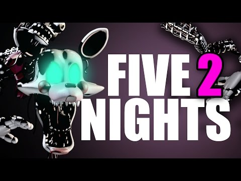 NUEVOS AMIGOS | Five Nights at Freddy's 2 | Parte 2
